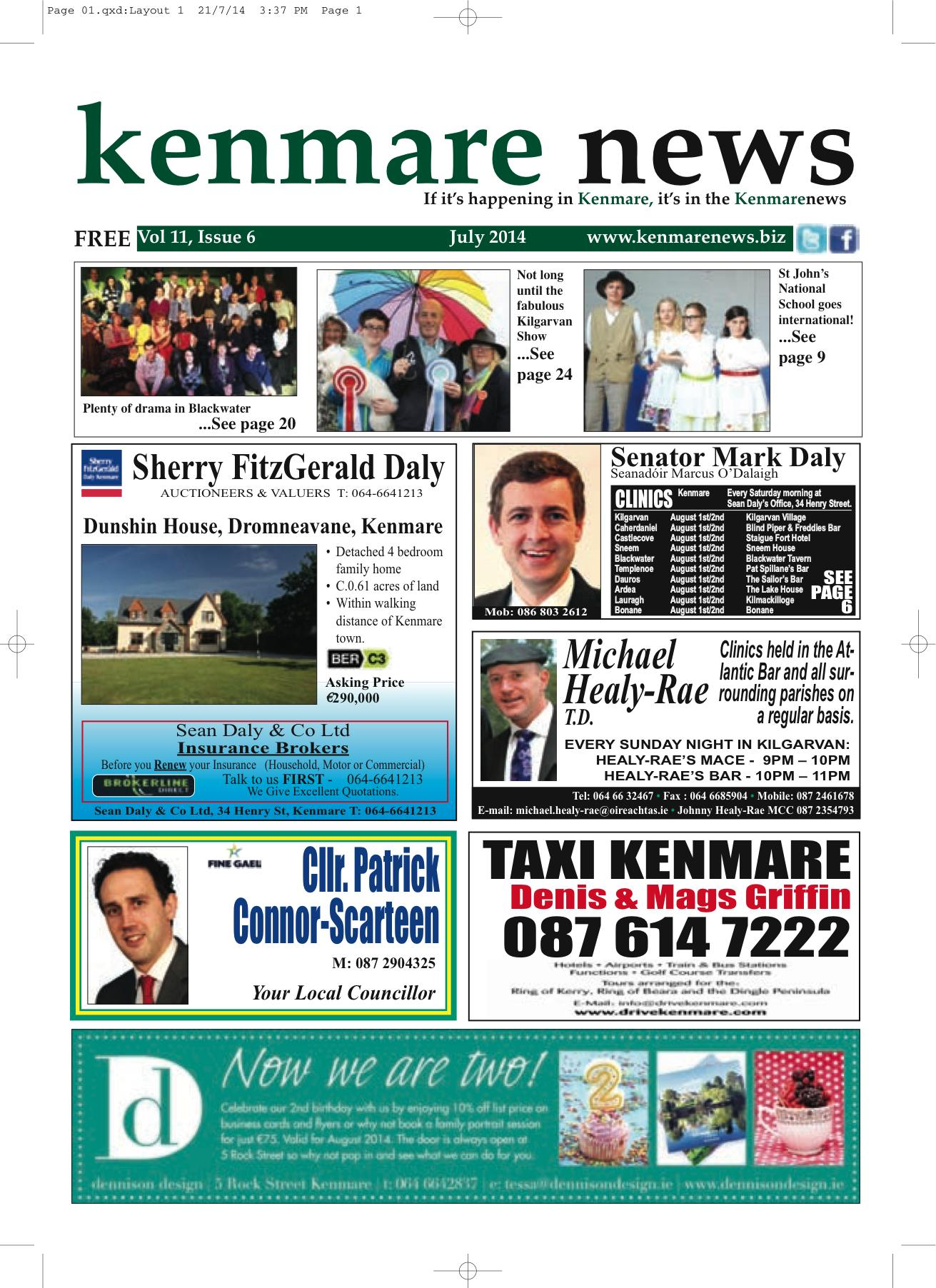 Kenmare News July 2014