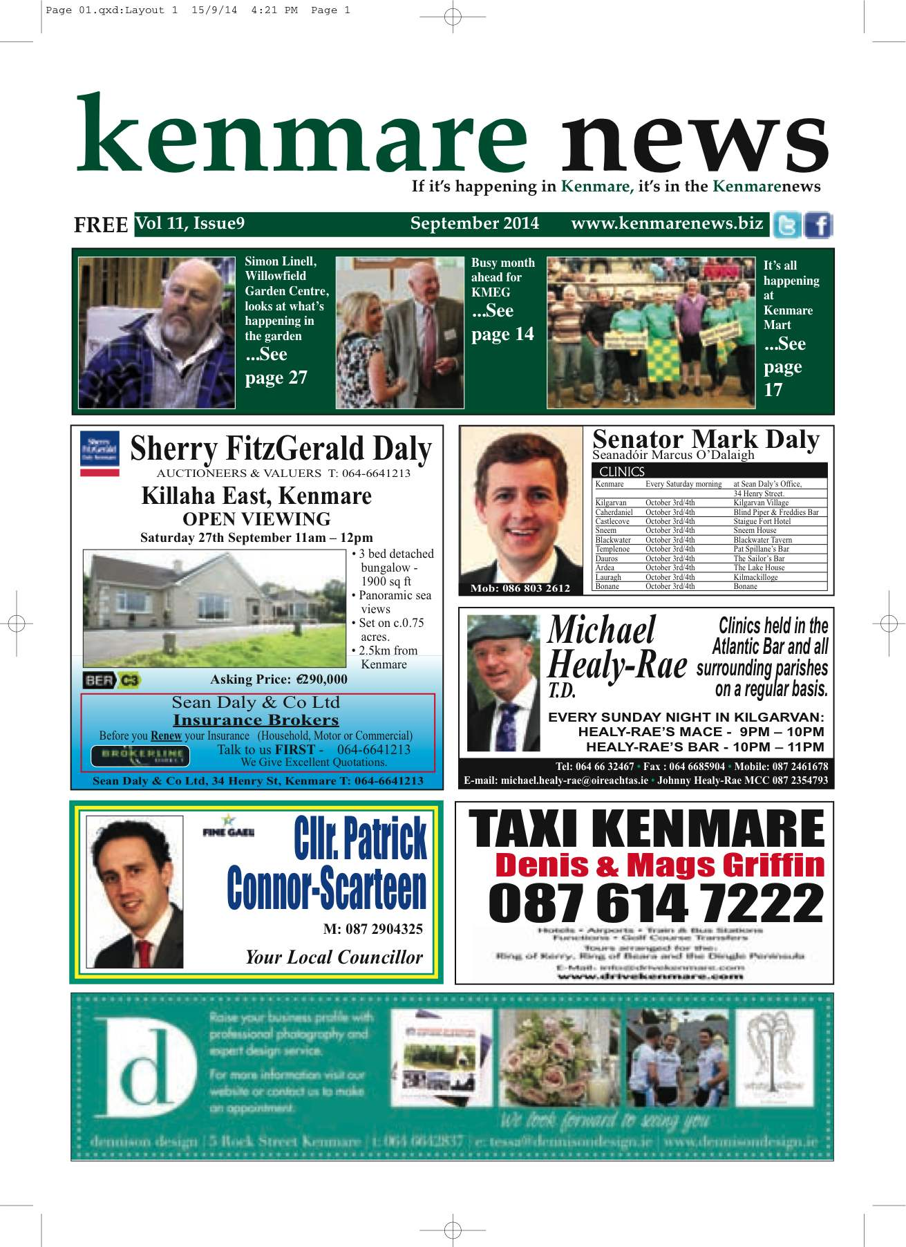 Kenmare News September 2014