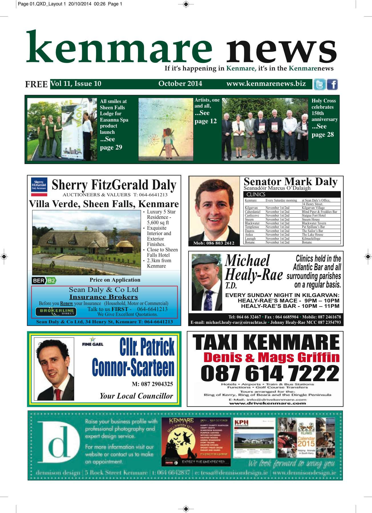 Kenmare News October 2014