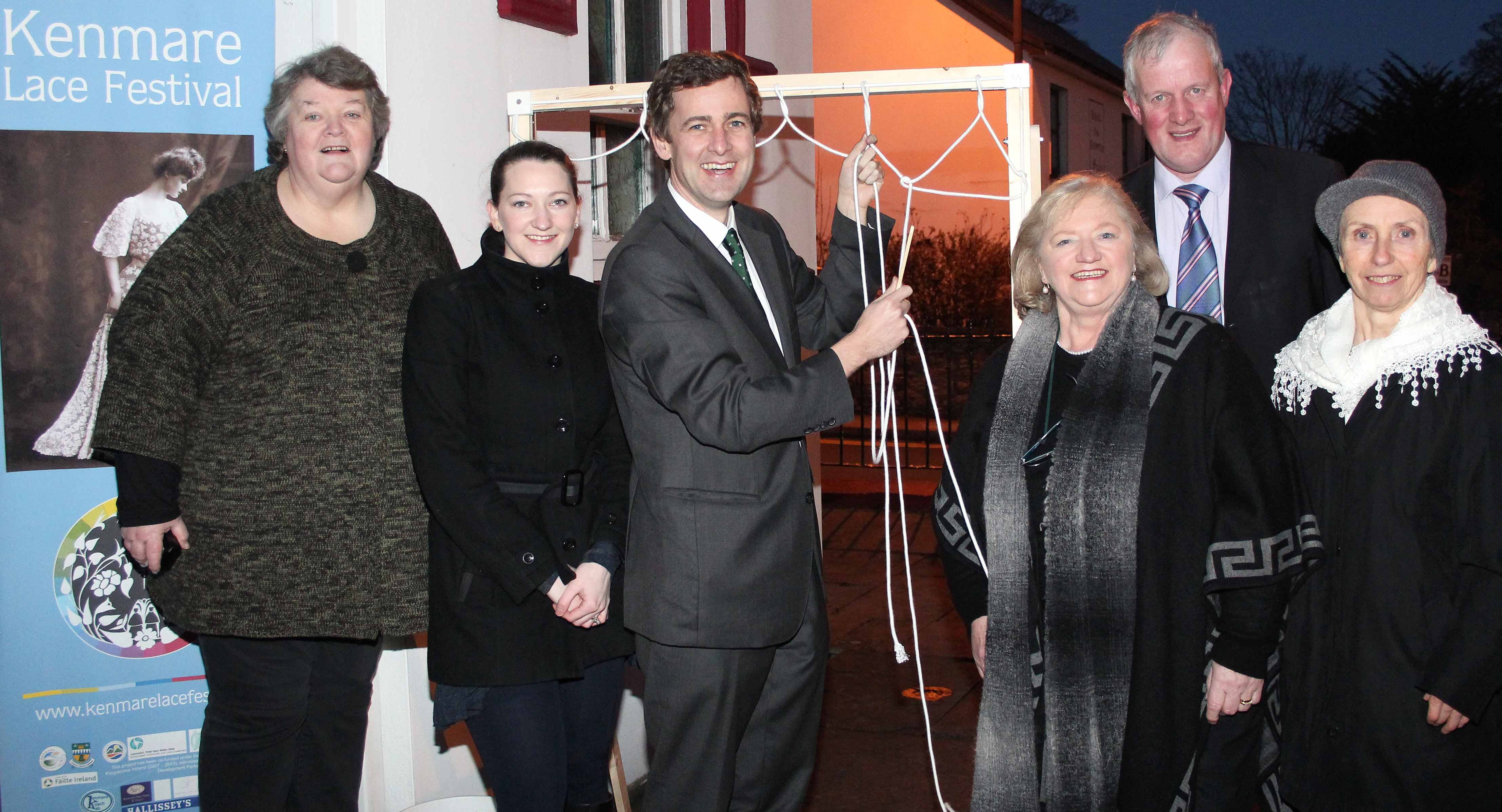 Pictured at the Launch of Kenmare Lace Festival