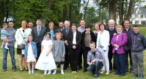 23 The Harrington & O'Connor Family at Amy Harringtons First Communion
