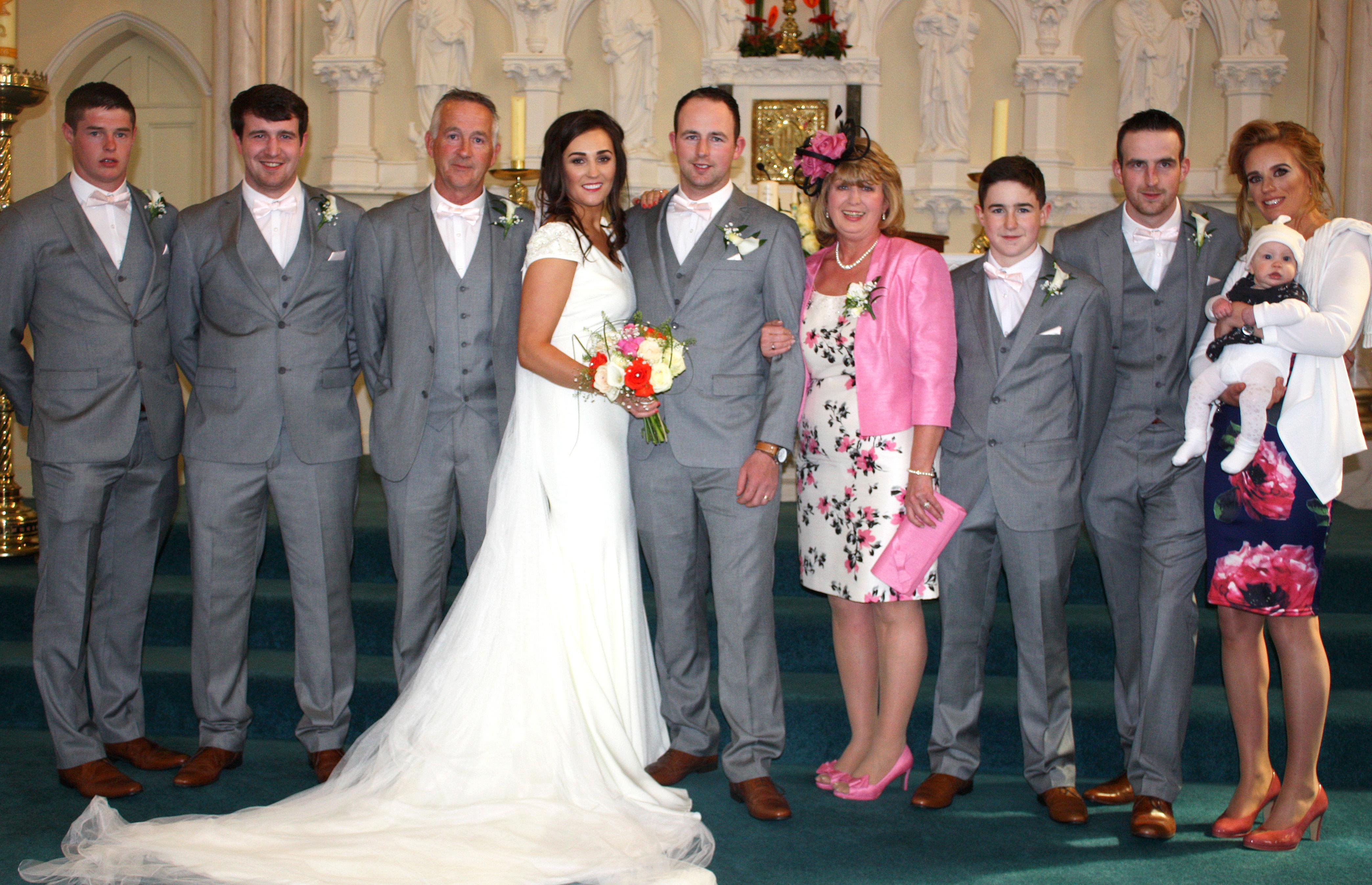 4   The wedding of Laura Doherty & Kieran O'Sullivan