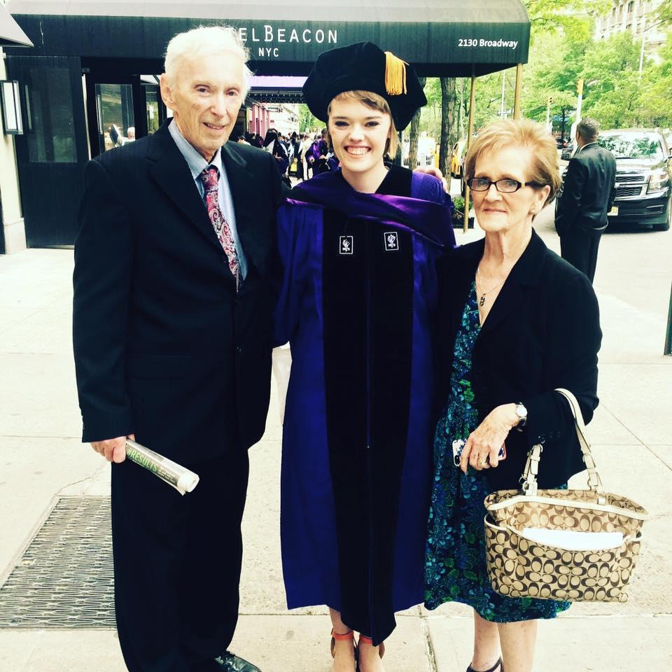 siobhan graduation NYU