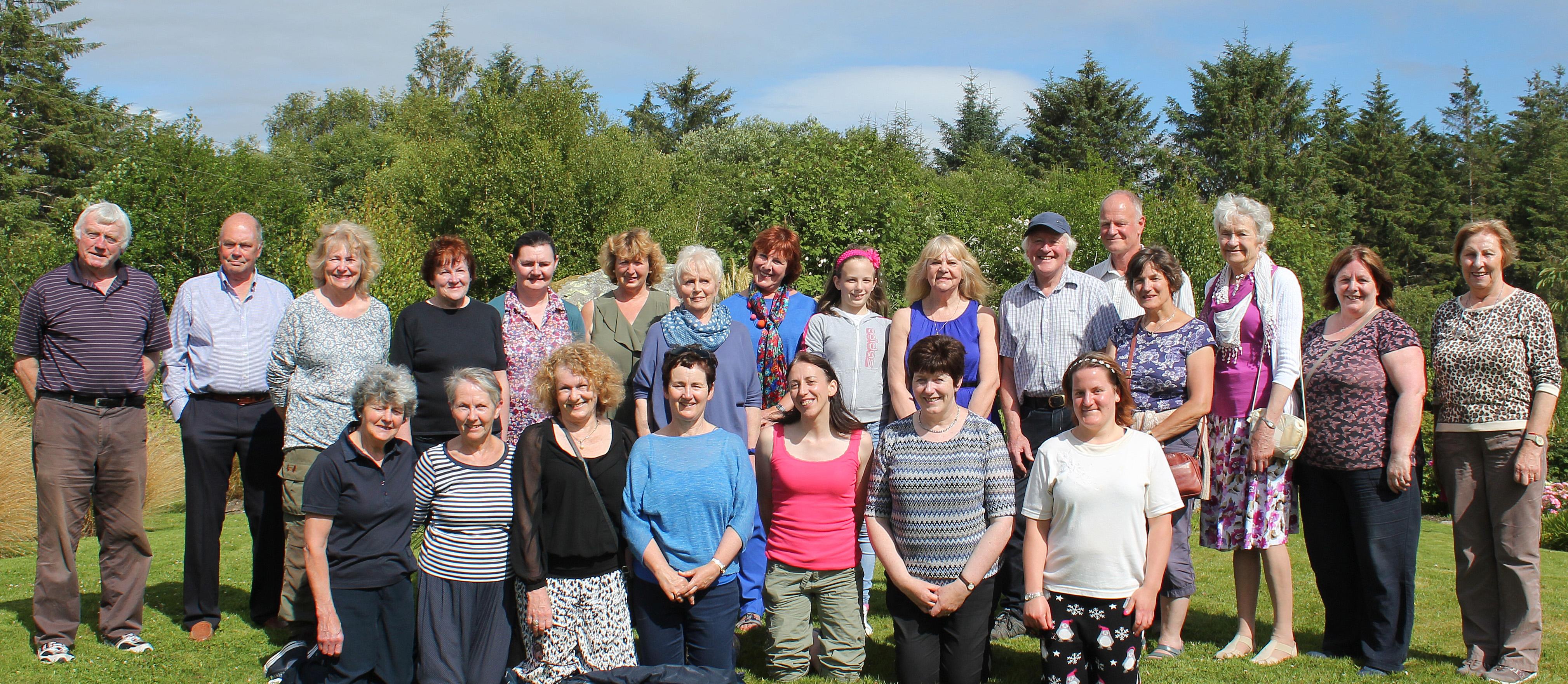 4 Blackwater Group visit Steve & Louise Austin's Garden