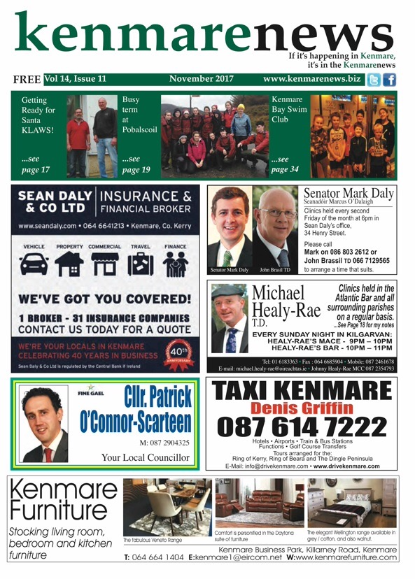 Kenmare front page