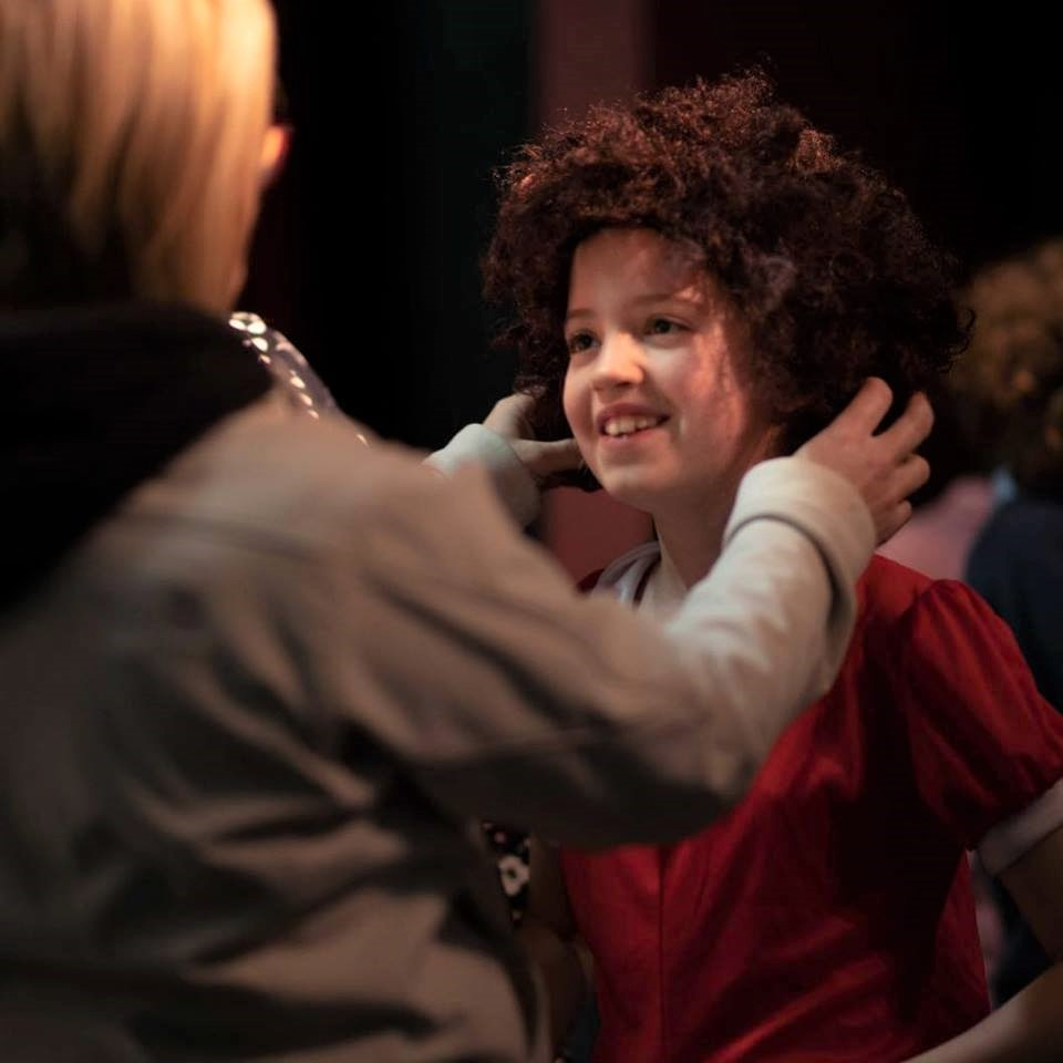 Theatre Games Spring Musical Kenmare Ireland Carnegie Arts Centre red hair child smiling