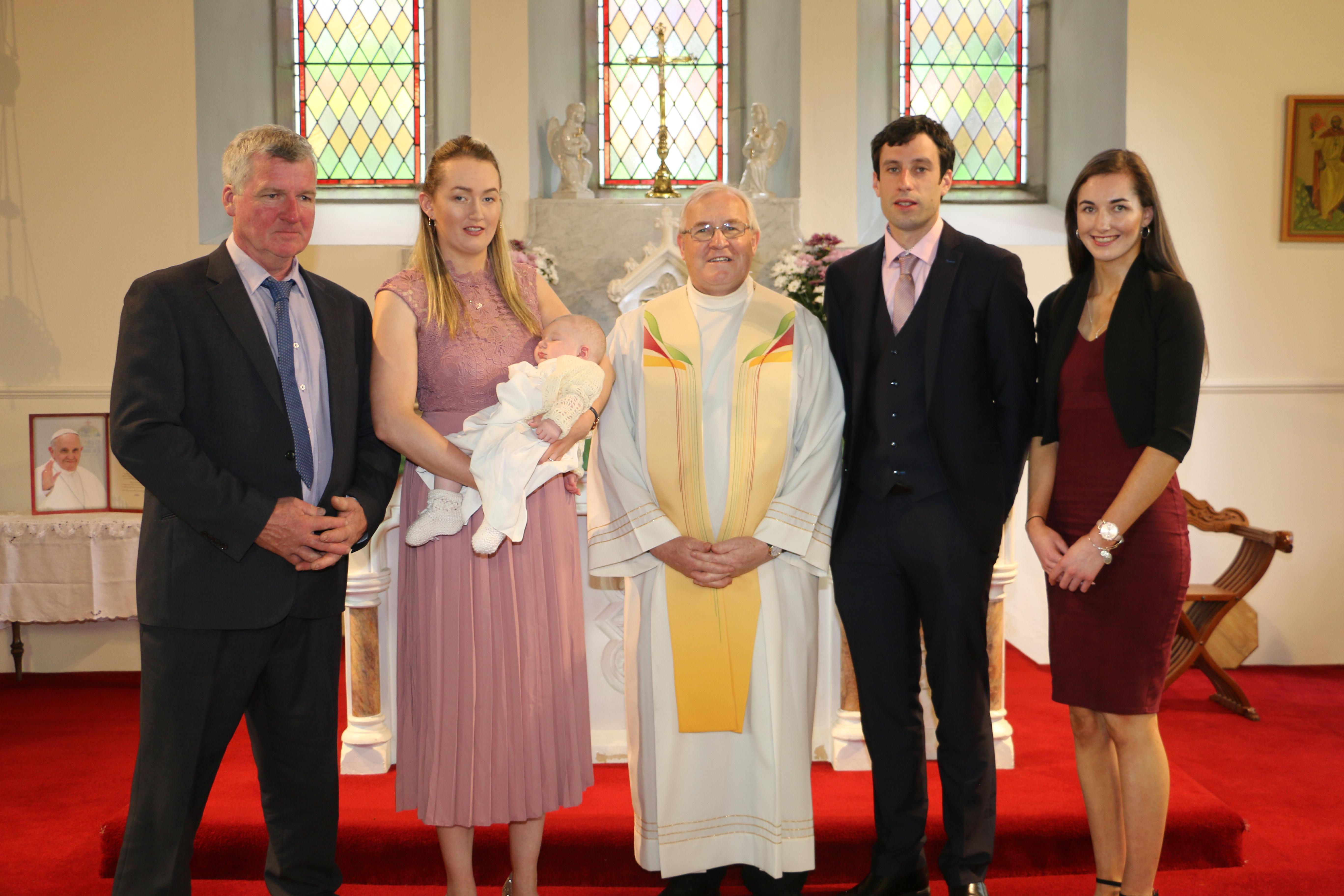 Baby Fionáns Christening