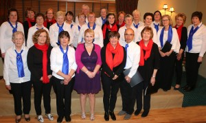 21 Blackwater Singers & Mary Culloty O'Sullivan & Finding Your Voice Killarney Ladies Singing Group