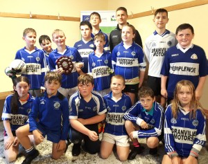 22 Templenoe Under 12 s who defeated Glenbeigh Glencar in Pearl Shield
