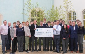Vikingdom Raft Race Cheque to Pobalscoil