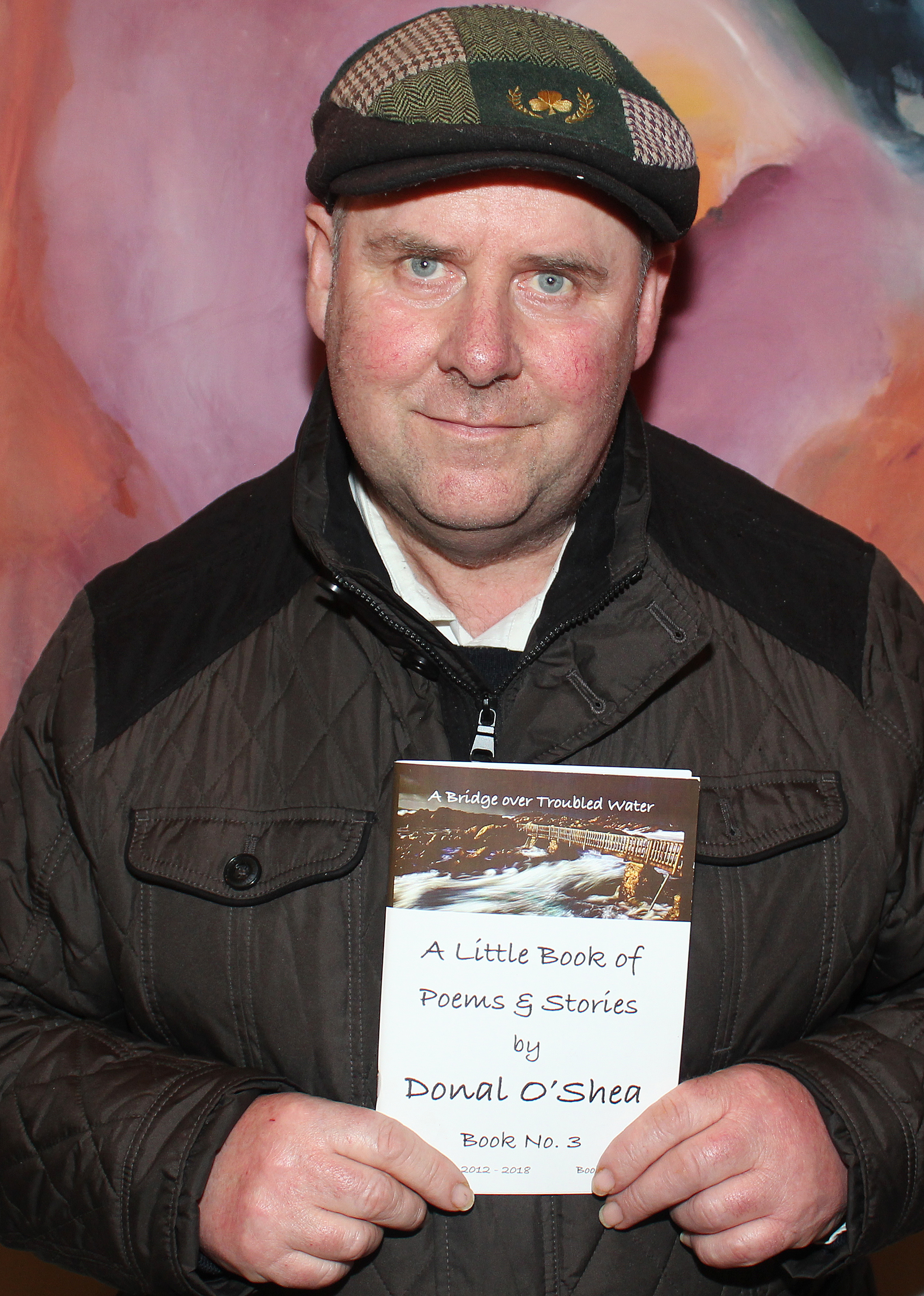 Book of Poems by Donal O'Shea Poetry Book