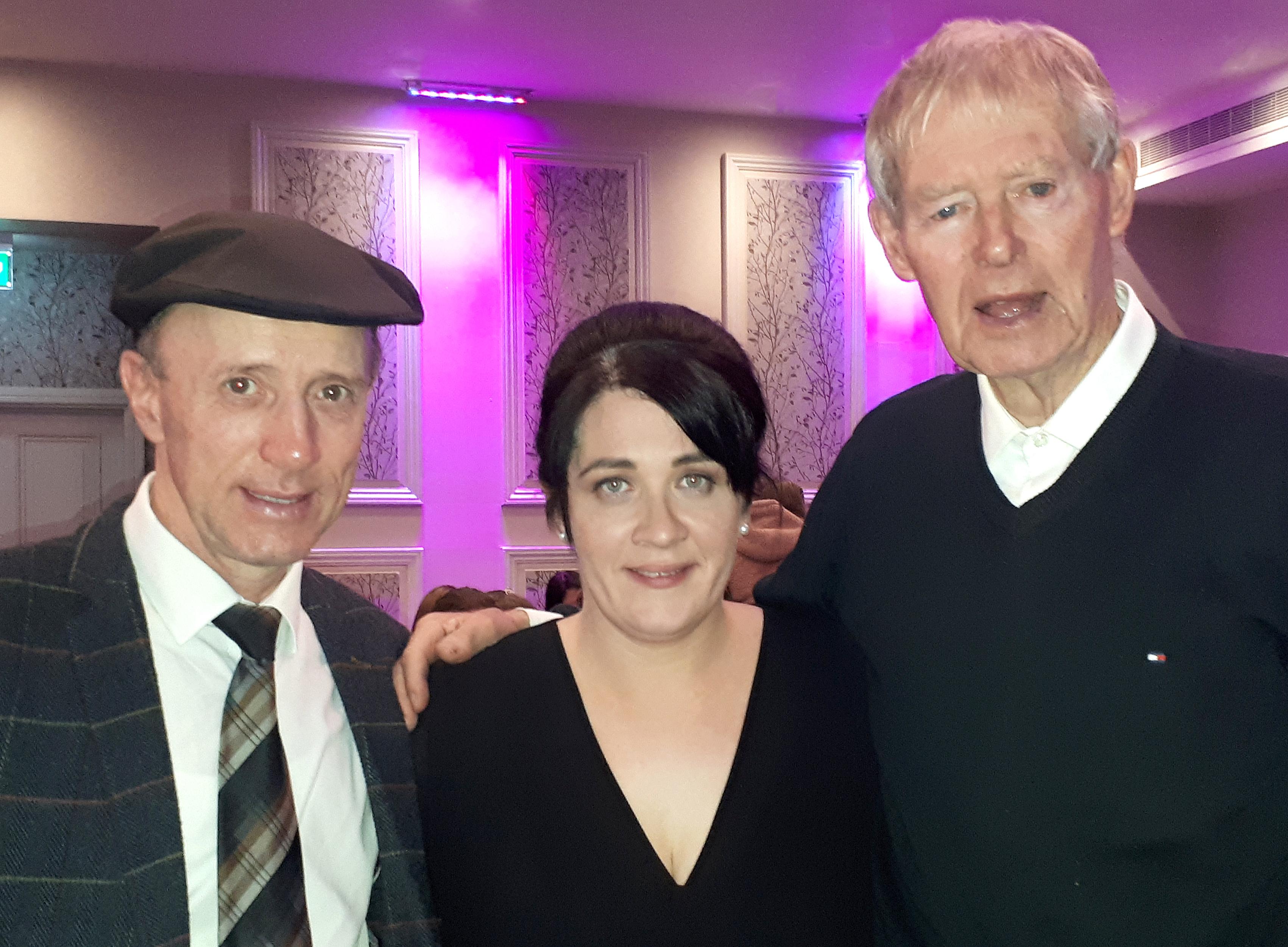 Michael Healy Rae Jean O'Sulliva n & Mícheál Ó Muircheartaigh