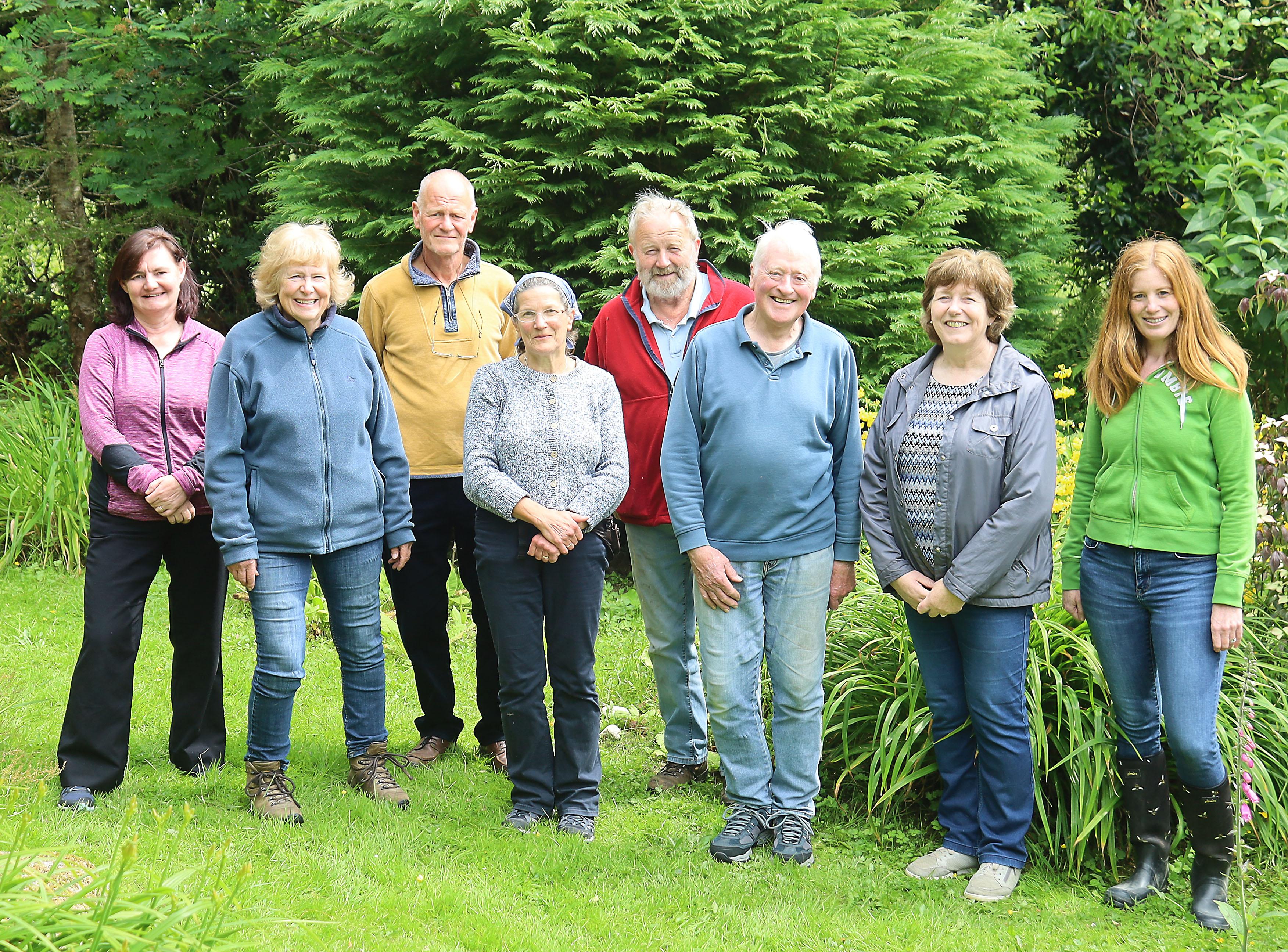 Blackwater Group visit Steve & Louise Austins Garden