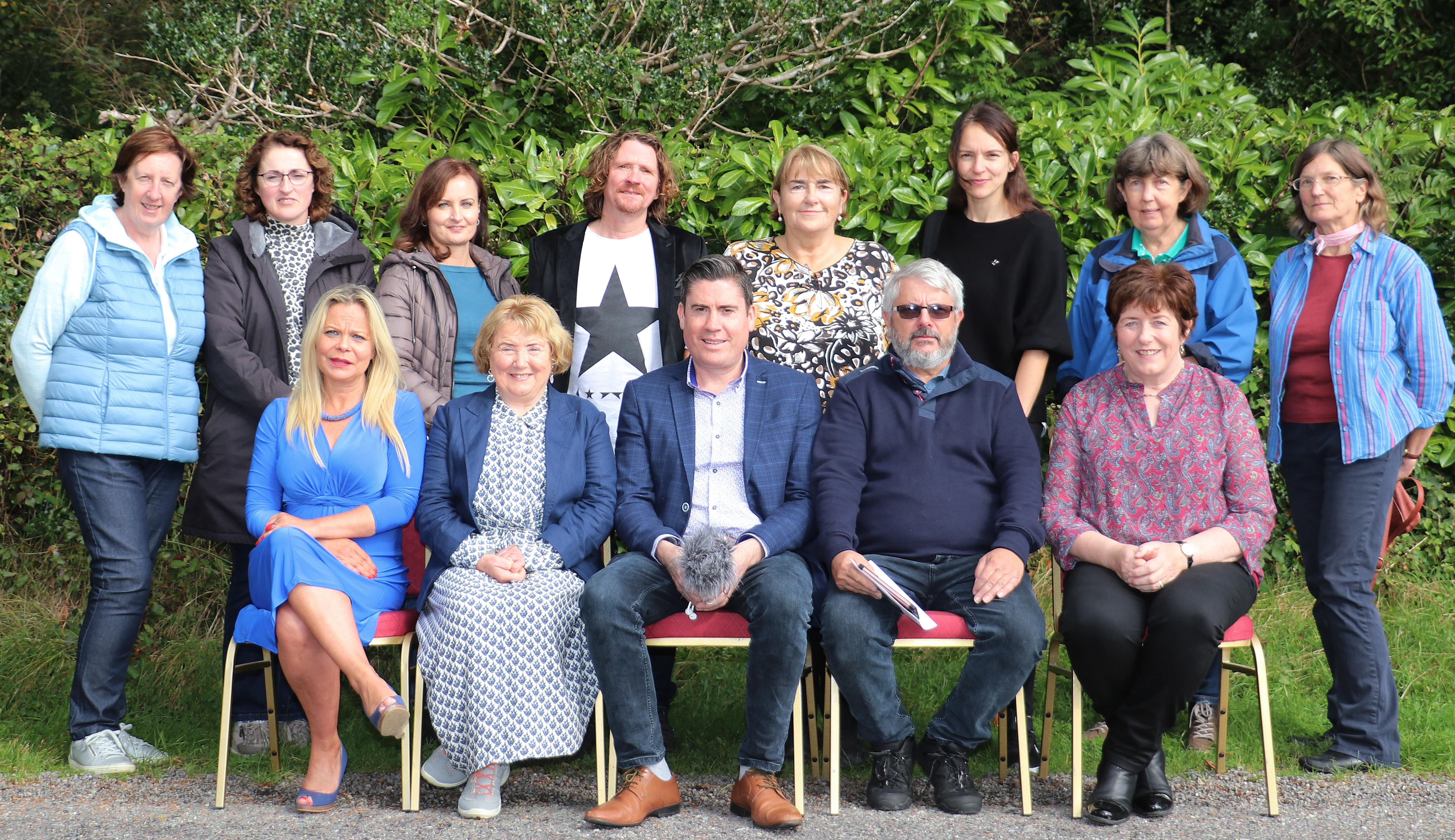 29 Hue Sat -5 Photography Group Mary O'Leary Nora Marie Crowley, Veronica Tagney,Declan O'Shea, Mary O'Neill Jana Machalkova, Mary Barry & Catherine Dodd